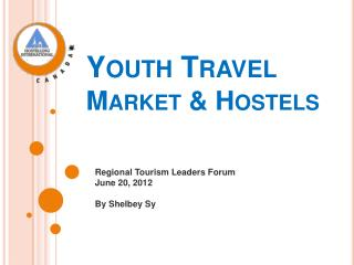 Youth Travel  Market & Hostels