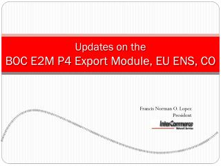 CCBI: Automated Import Processes