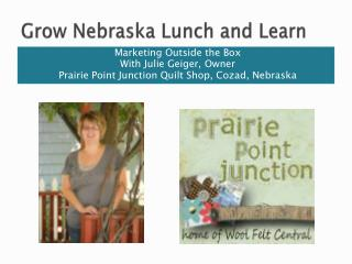 Grow Nebraska Lunch and Learn