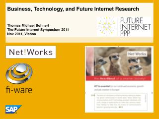 Business, Technology, and Future Internet  Research