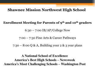 Shawnee  Mission Northwest High School