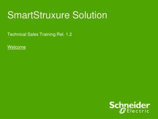 SmartStruxure  Solution