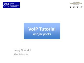 VoIP Tutorial not for geeks