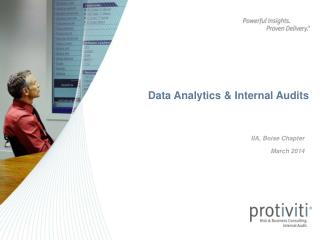 Data Analytics & Internal Audits