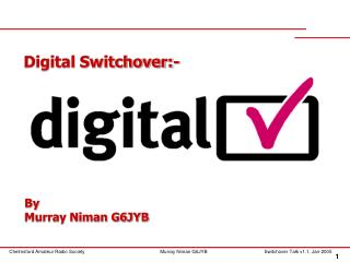 Digital Switchover:-