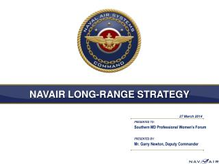 NAVAIR LONG-RANGE STRATEGY