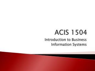 ACIS 1504