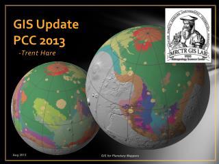 GIS Update PCC 2013