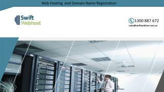 Web Hosting  and  Domain Name  Registration