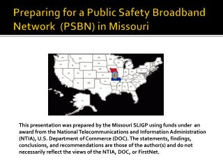 Preparing for a Public Safety Broadband Network  (PSBN) in Missouri