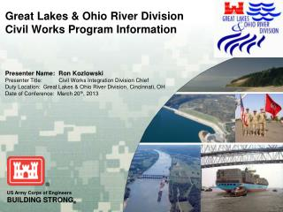 Great Lakes & Ohio River Division  Civil Works Program Information