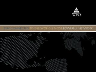 Stay Connected  to the World's Most Powerful Network
