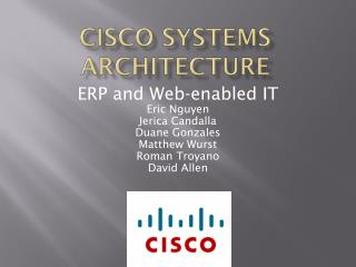 Cisco Systems Architecture