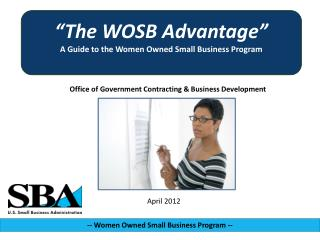 Office of Government Contracting & Business Development