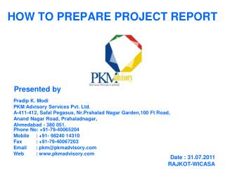 HOW TO PREPARE PROJECT REPORT