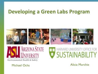 Developing a Green Labs Program