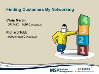 Finding Customers By Networking