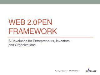 Web 2.0pen Framework