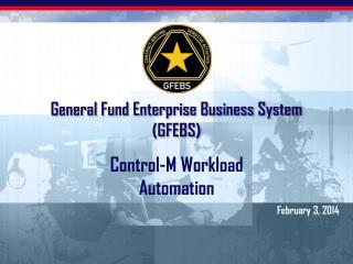 General Fund Enterprise Business System (GFEBS)