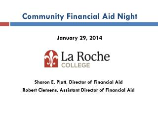 Community Financial Aid Night