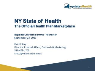 NY State of Health The Official Health Plan Marketplace