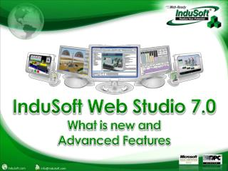 InduSoft  Web Studio 7.0 What is new and Advanced Features