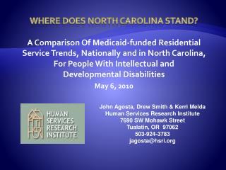 Where Does North Carolina Stand
