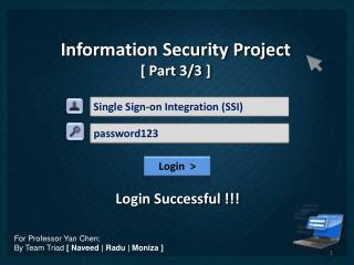Single Sign-on Integration (SSI)