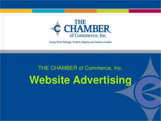 THE CHAMBER of Commerce, Inc. Website Advertising