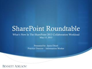 SharePoint Roundtable