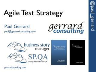Agile Test Strategy