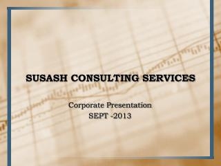 SUSASH CONSULTING SERVICES