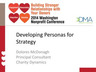 Developing Personas for Strategy
