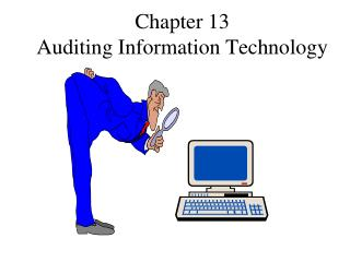 Auditing ch13