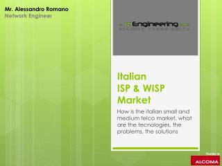 I talian  ISP & WISP Market
