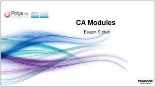 CA Modules