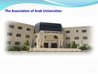 The Association of Arab Universities