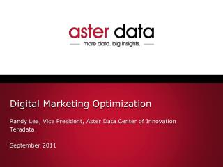 Digital Marketing Optimization