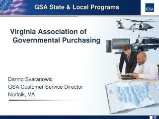 GSA State & Local Programs
