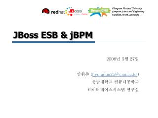 JBoss ESB & jBPM