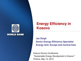 Energy Efficiency in Kosovo