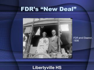 FDR�s �New Deal�