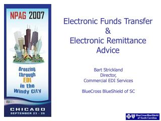 Electronic Funds Transfer  Electronic Remittance Advice