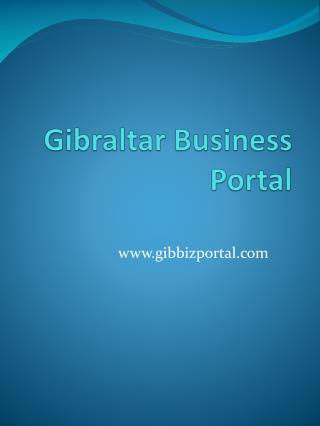 Gibraltar Business Portal