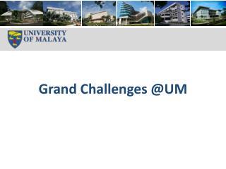 Grand Challenges @UM