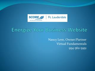 Energize Your Business Website