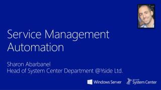 Service Management Automation
