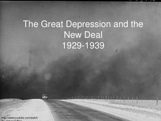 The Great Depression and the New Deal 1929-1939