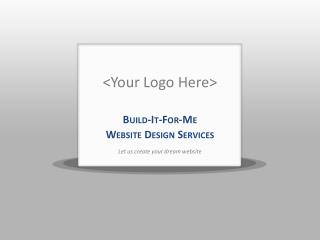 <Your Logo Here>