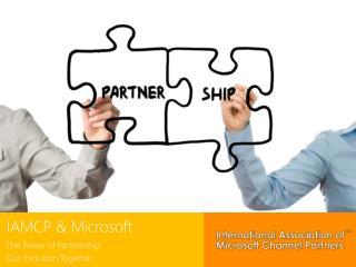IAMCP & Microsoft